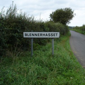 Entering Blennerhasset Village