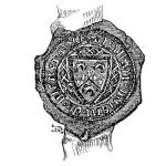 Seal of Alan de Blenerhayset, Carlisle 1390
