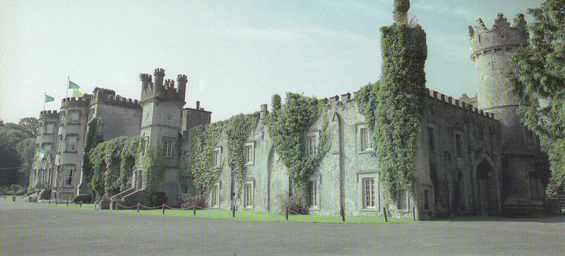 Ballyseedy Castle postcard c2000