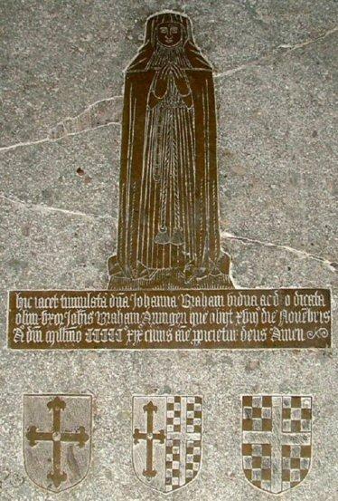 Johanna Braham, nee Blennerhasserr, d.1519; Frenze, Norfolk