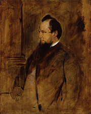 Lord Acton, portrait by Franz Seraph von Lenbach