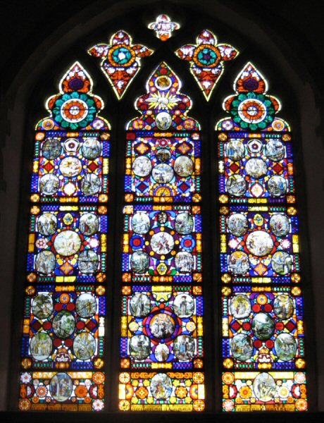 West Window at Nowton Church, Norfolk