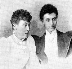Rose Blennerhassett and Lucy Sleeman 1893