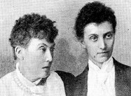 Rose Blennerhassett (left) and Lucy Sleeman 1893