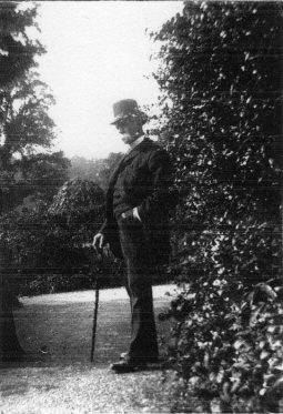 Thomas de Courcy Hamilton at Dunboyne c1900