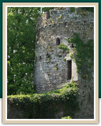 Usk Castle, Monmouthshire
