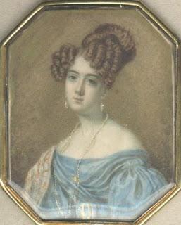 portrait of Charlotte Trotter, 1831 - obverse